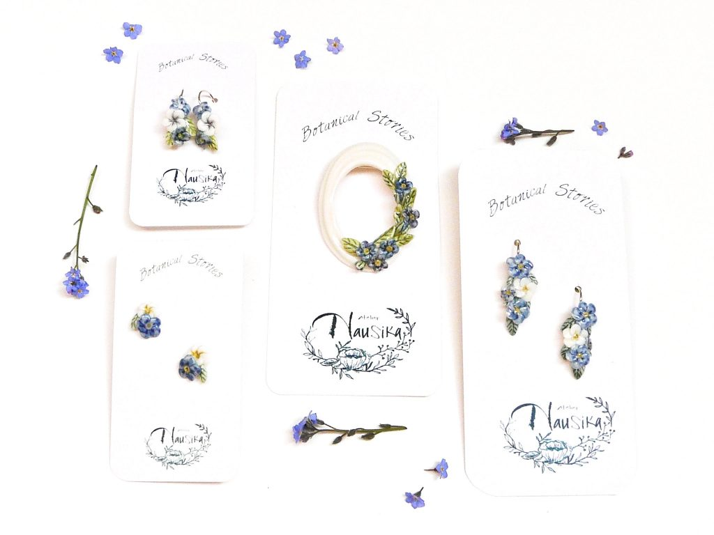 new jewellery botanical stories
